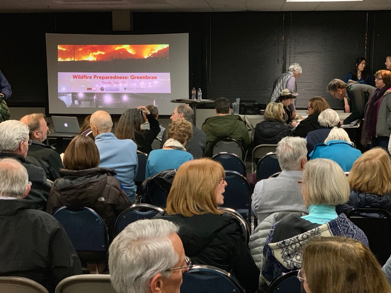 75 Residents Attend Greenbrae Hills Wildfire Safety and Resources Event