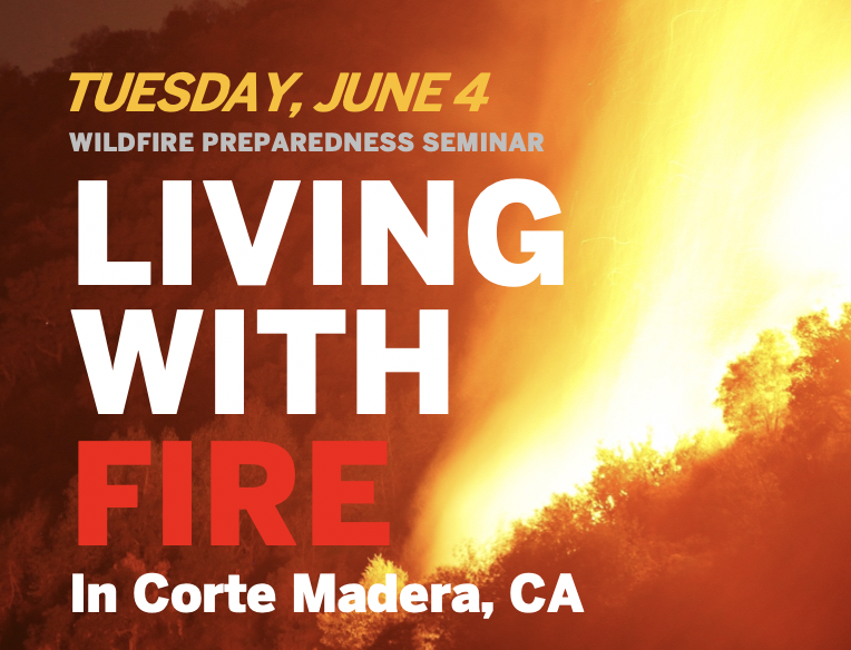 Living With Fire Seminar: Corte Madera, June 4